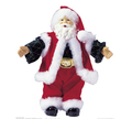 Wholesale High Quality Christmas Promotion Gift Plastic Santa