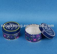 tealight candle with steel box ---JS20027