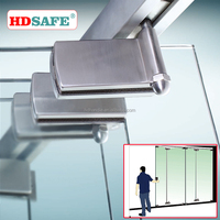 SUS304 interior frameless lowes glass sliding folding partition