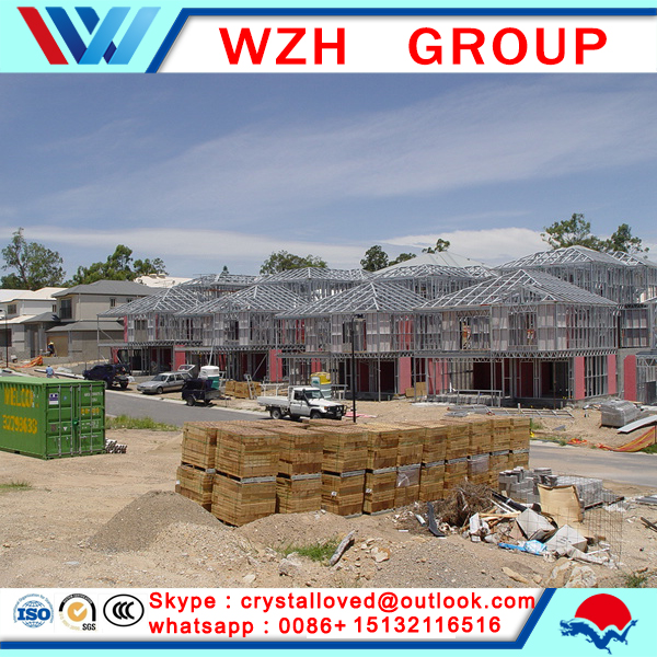 modular prefabricated hotel villa houses in alibaba /made by eps cement sandwich panel from china supplier