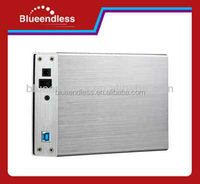 "Aluminum hdd enclosure BS-U3SF hdd enclosure 3.5"" hard drive disk USB3.0 to SATA/IDE hard drive case"