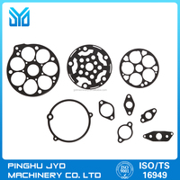 CNC processing steel cylinder head and auto engine seals gasket parts with OEM/ODM