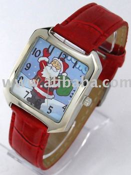 Santa Claus watches