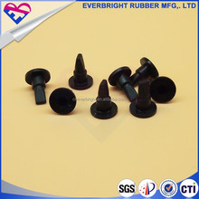 Eco-friendly material tapered rubber plugs