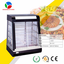fried chicken food display warmers/bakery glass display showcases/hot food warmer