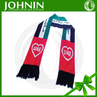 JOHNIN uae national day cotton scarf
