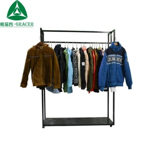 Old stock clothes men ladies jacket second hand clothes in dubai
