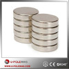 High Working Tempeture Rare Earth Magnet/Neodymium 38EH Disk Magnet