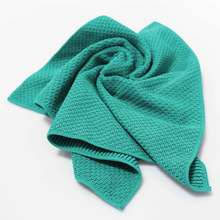 Jacquard Warp Knitted Mulit-purpose Household Cleaning Product Microfiber Cloth