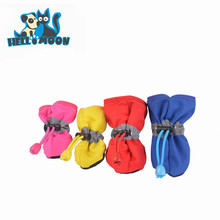 Wholesale Portable Skidproof Ventilate Soft-Soled Waterproof Pet Dog Shoes Boots