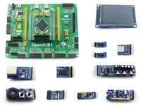 Open4337-C Package B # LPC ARM Cortex M4 M0 dual-core LPC4337JBD144 Development Board + 3.2inch Touch LCD + 10 Modules