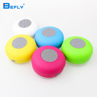 Portable Subwoofer Shower Waterproof Wireless Bluetooth Speaker Car Handsfree Call Music Suction Mic For IOS Android Phone