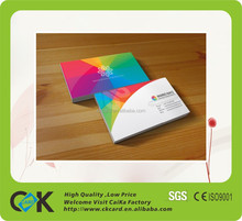 CR80 Standard Size Plastic VIP Card with paper flyer