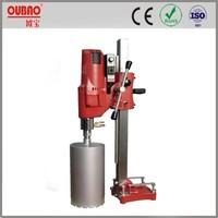 CE ROHS Certificate OUBAO granite and reinforce concrete diamond core drill machine for sale