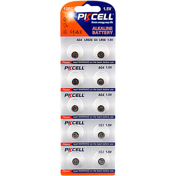 PKCELL 5 years shelf life high quality 3v cr1620 lithium button cell battery with solder tabs