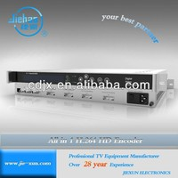 IPTV System DVB/S/S2/C/TAll in one MPEG4/ H.264 HD Encoder JXDH-6202 H II XM-N low cost
