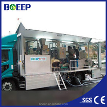 Containerized mobile sewage water treatment plant