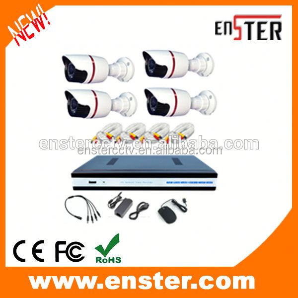IR Camera CCTV Camera System HDMI H.264 CCTV DVR kit 4 CH Home Security Camera System ahd dvr kit