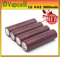 High power and long life LG HG2 INR18650 3000mah brown power tool battery