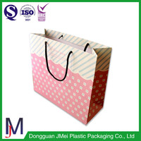 china supplier stylish reusable grocery bags square paper bag handles