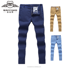 New Style Casual Custom Trousers Cotton Chino Pants For Men