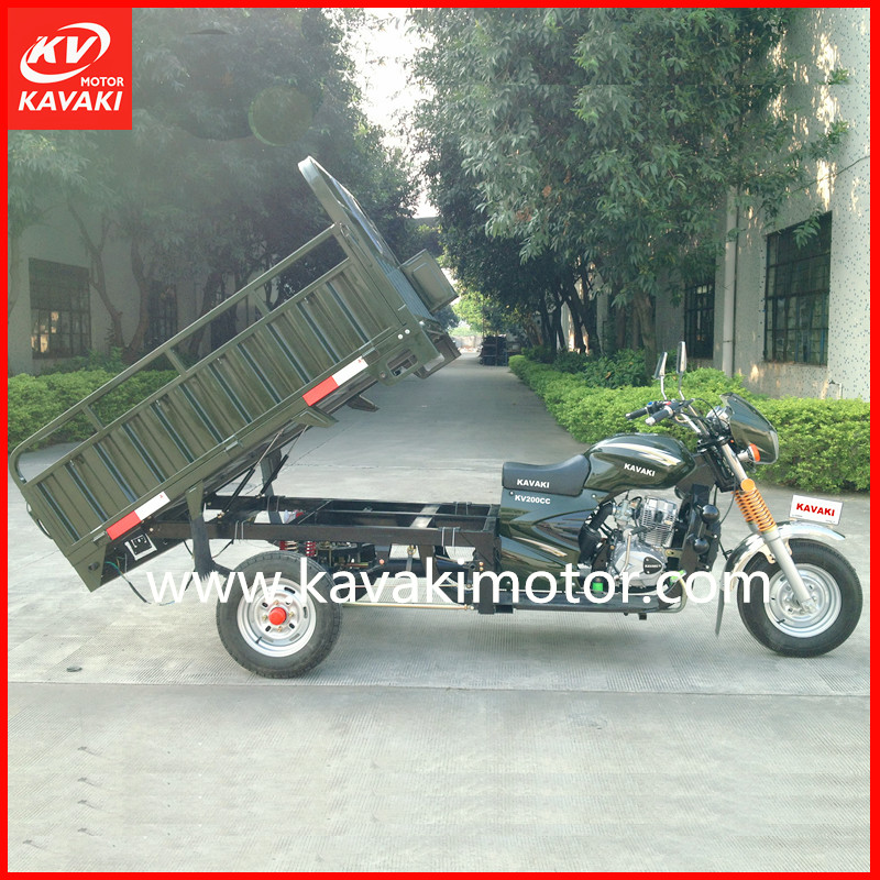Heavy Duty Loading Tricycle Series Three Wheel Zongshen Engine Cargo Carrier Motor 200CC