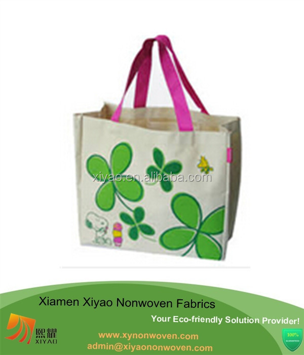 New Design Printed Nonwoven Costume Shopping Bag