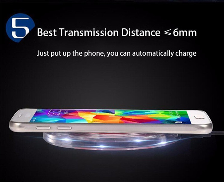 Portable Qi Wireless Charger For phone , Wholesale Cell Phone Charger,  universal wireless charger with receiver