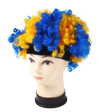 Wholesale Fans Sports Wigs Football Fans Cosplay Wig