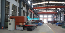 8/10/12/24/30/32 Working Station Solar Water Heater Production Line CNC Turret Punch Press