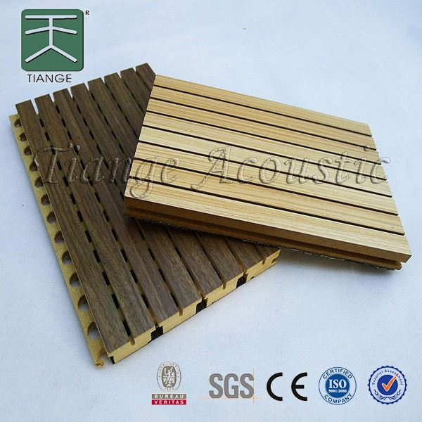 Sound Absorbing Panel acoustic wood board acoustic barrier wall for auditorium
