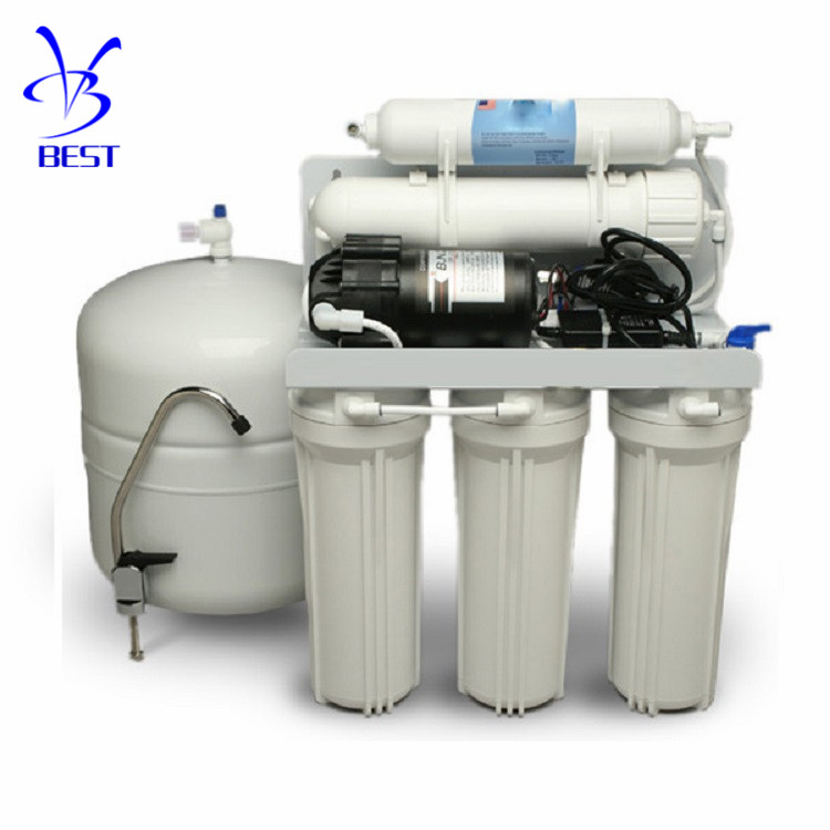 Factory price 5 stage drinking domestic Alkaline RO Water Filter <strong>System</strong> for home