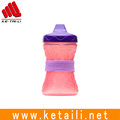 New style Custom logo priting Strenchable Durable Silicone water bottle private label gift band
