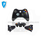 New black white wireless controller para microsoft xbox360