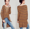 short front long back women blouse, trendy long sleeve blouse, front short and long back blouse
