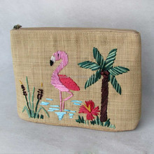 new design hand embroidery Straw bags