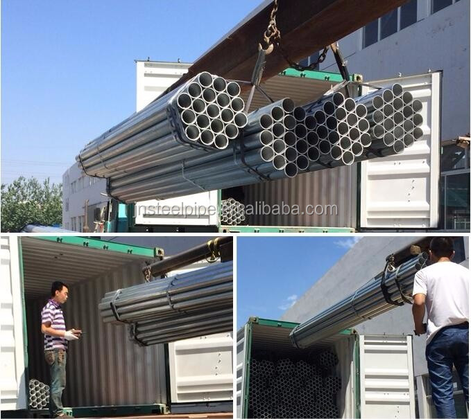 Hollow pipe 1.5 mm steel pipe 48.3mm for system scaffolding