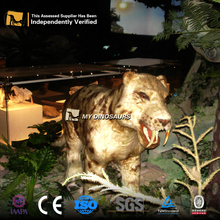 MY Dino-M22-9 High Simulation Wildlife Animal Saber-toothed tiger