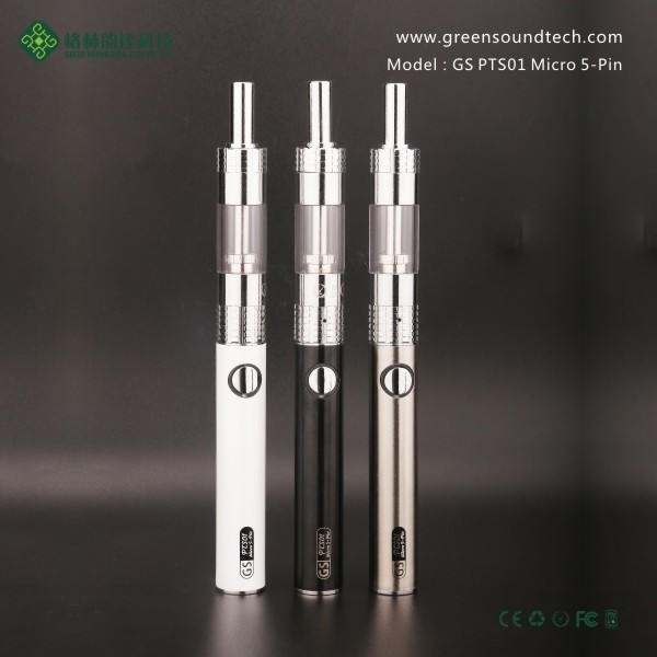 Factory New Product PTS01 Vaporizer Smoking Device Pen Style Electronic Smoking