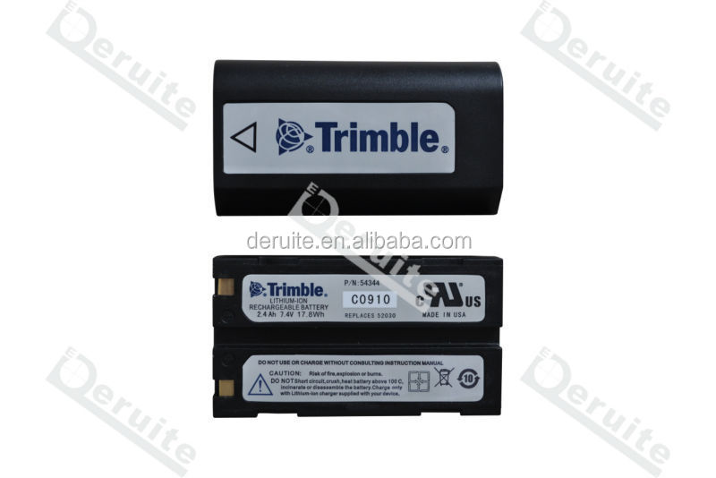 RTK INSTRUMENT: BATTERY FOR GPS,TRIMBLE GPS BATTERY 54344,Trimble GPS 5700/5800/R3/R4/R5/R6/R7/R8/DINI03/TSC1 battery
