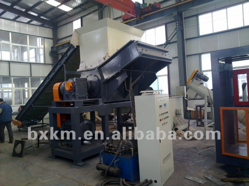 Plastic PP PE Waste Film Crusher , from 9 Years' Gold Supplier !