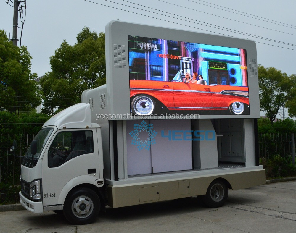 YEESO High Definition P6 LED Mobile Truck for Sale