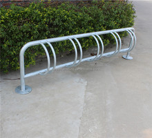 5 bike space hot dip galvanized metal bike rack bicycle parking rack