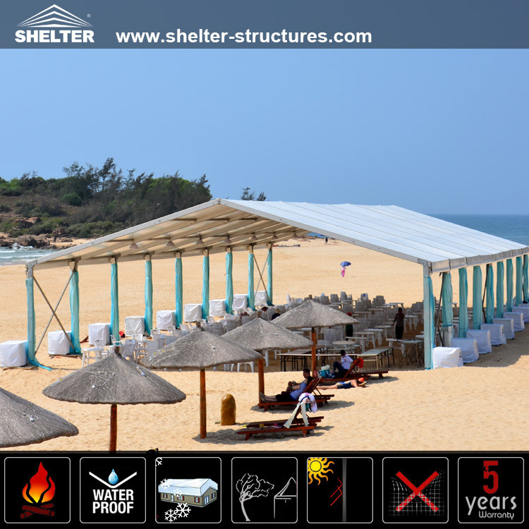 Convenient and stable Wind Proof and UV resistance Beach Tent For Sun Shelter