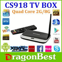 Oem Android 4.4 Smart Cs918 Rk3188 Full 1080P Hd Kodi Media Player Youtube Youporn Iptv Android Tv Box Cs918 Russian 2016