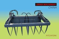 pitchfork attachments for wheel loaders
