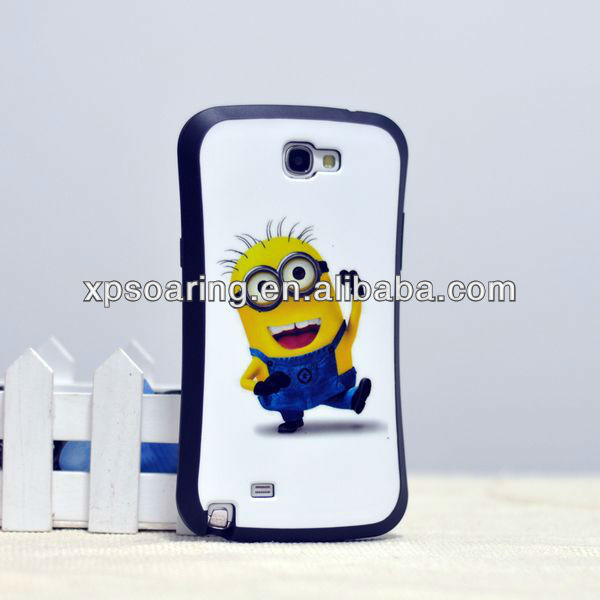 TPU soft case back cover for Samsung Galaxy Note 2 n7100