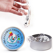 China Manufacturer Clear Crystal Liquid Glass Slime Putty