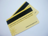 Printable Directly White Blank PVC Card with Magnetic Stripe