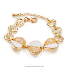 China wholesale salman khan gold design for men bracelet 2014
